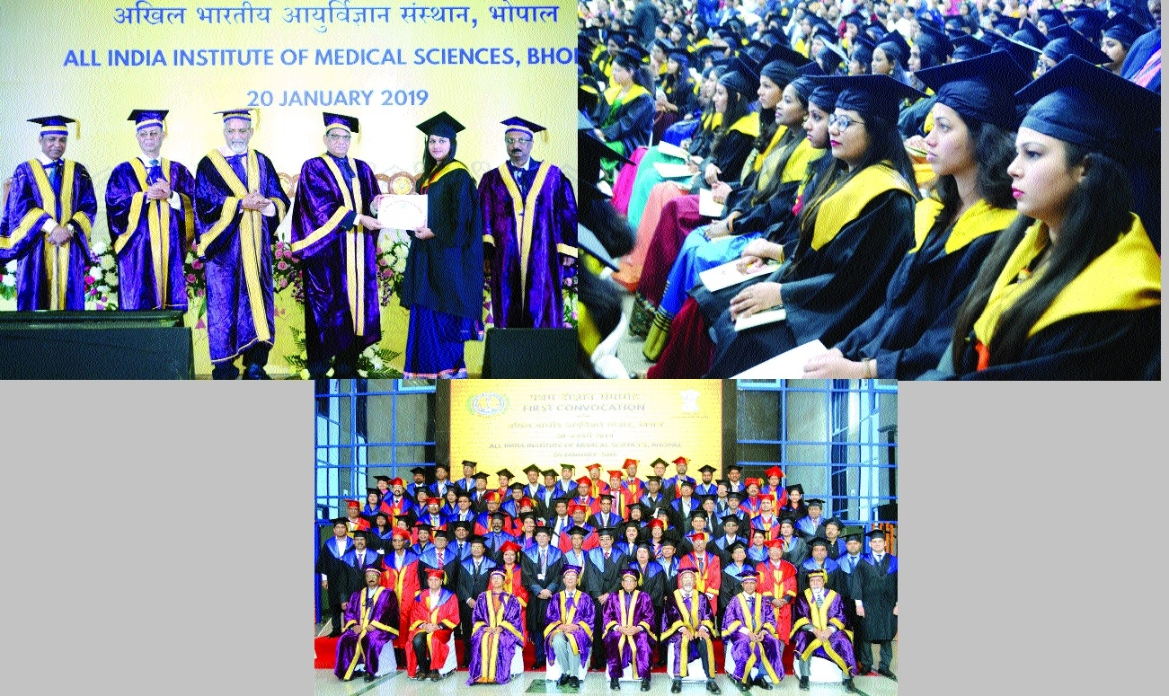 AIIMS' 1st convocation ceremony a grand affair