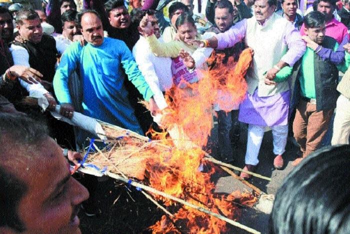 BJP flays deteriorating law & order