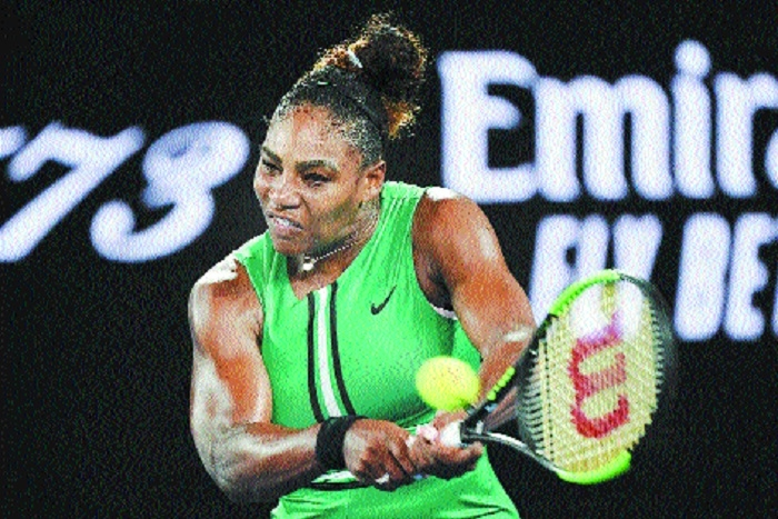 Serena muscles past top seed Halep, Osaka to meet Svitolina in quarters