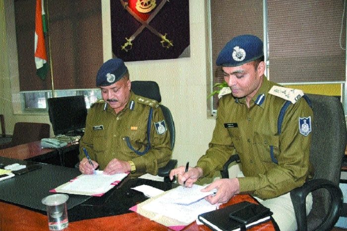Irshad Wali takes charge as new DIG