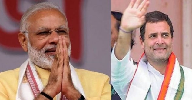 Modi most trusted leader, Rahul distant second, finds survey