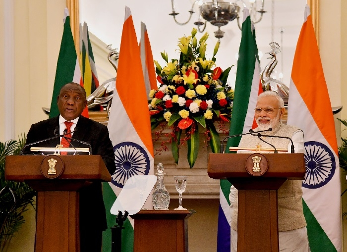 India, S Africa announce 3-year strategic programme to boost ties in key sectors