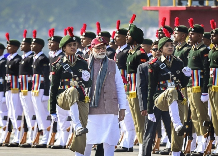 Won't hesitate to act tough for national security: Modi