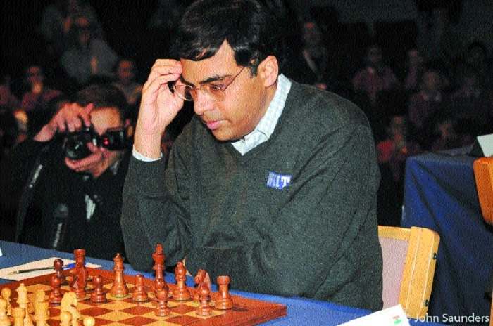 Anand finishes joint third after drawing with Gujrathi