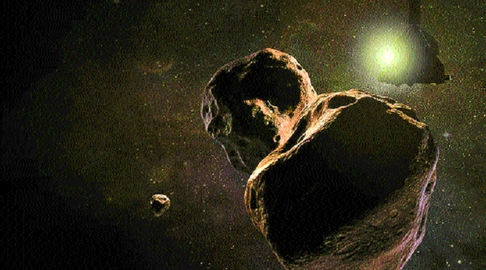 NASA craft beams back images of Ultima Thule