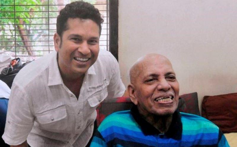 Tendulkar's coach Ramakant Achrekar passes away