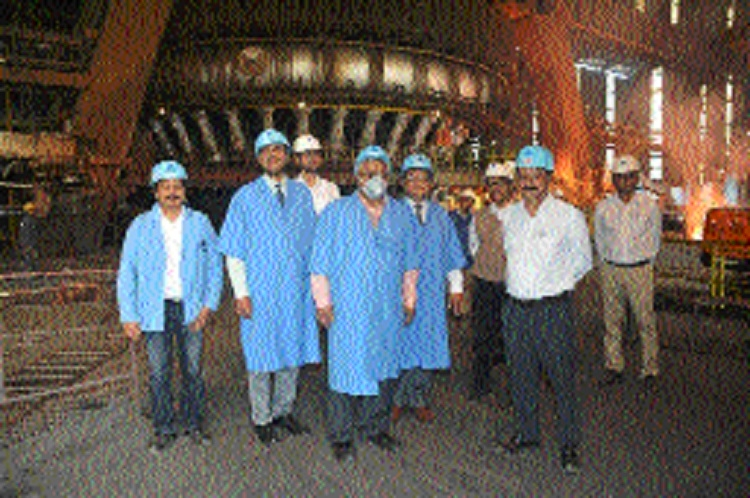Independent Directors of SAIL visit BSP