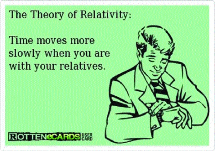 My theory of relativity!