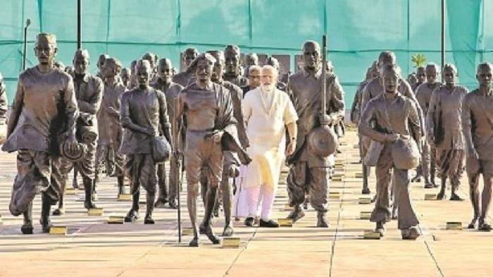 PM dedicates Salt Satyagraha Memorial, Museum to nation