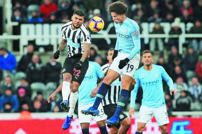 Newcastle shock Man City Liverpool's title chances get a boost