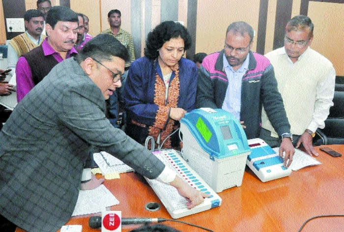 Admin gears up for use of VVPAT in ensuing LS polls