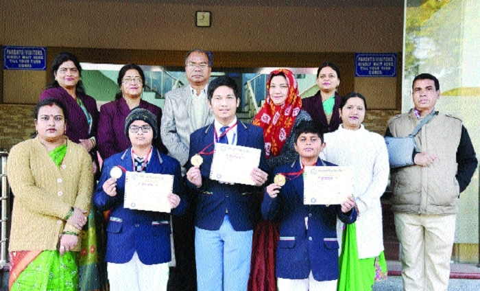 Four Campion students bag 'Aadarsh Vidyarthi Puraskar'