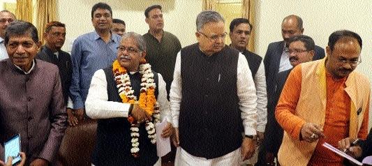 Kaushik elected as BJP Legislature Party Leader