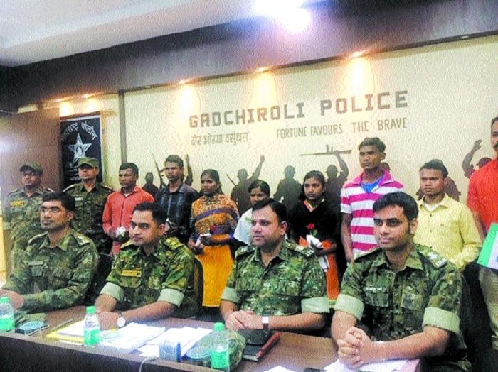 7 Naxals carrying Rs 32 lakh reward surrender