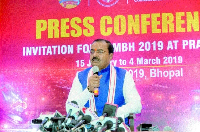 UP Deputy CM Maurya invites CM Nath for Prayagraj Kumbh