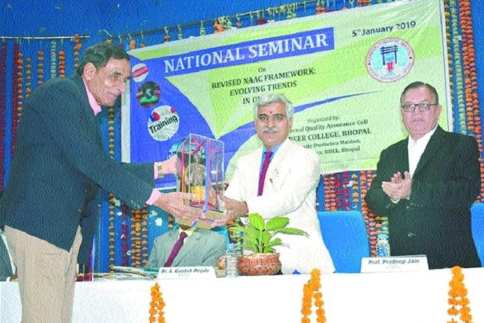 NAAC framework workshop organised