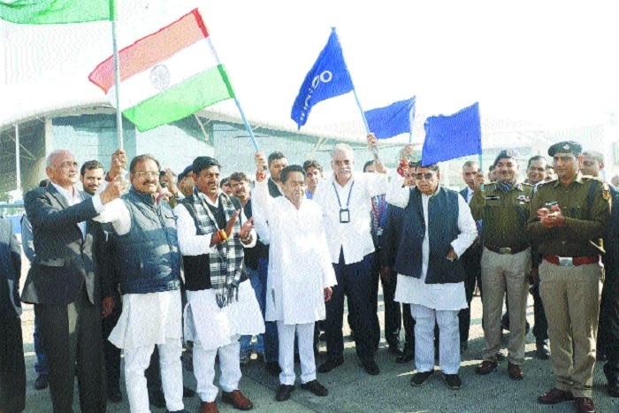 Indigo's Bhopal-Hyderabad air service inaugurated