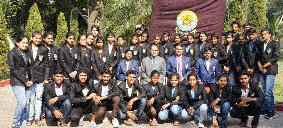 43-member PRSU team leaves for Central Zone Youth Fest