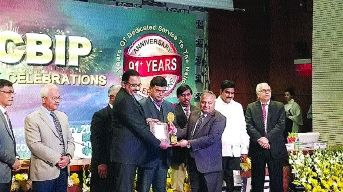 NHDC bags CBIP Award