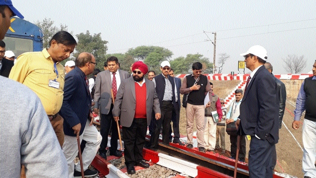 SECR GM inspects Sunil Singh Soin four sections