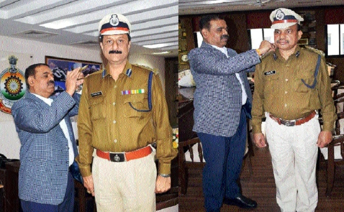 DGP decorates two newly promoted DIGs