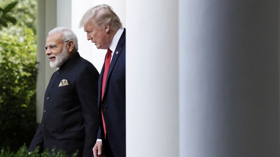 Modi, Trump discuss trade deficit, defence over phone