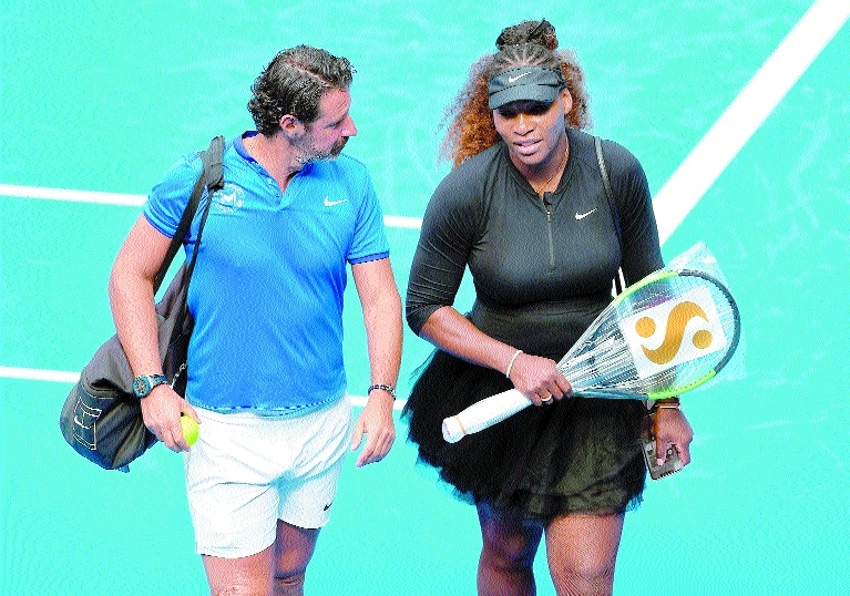 Serena shoots for Slam history