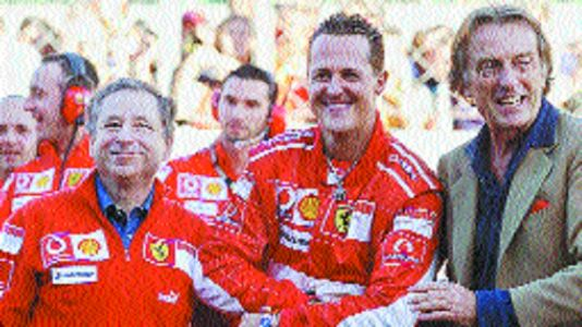 'Hope to attend GP with Schumi one day'