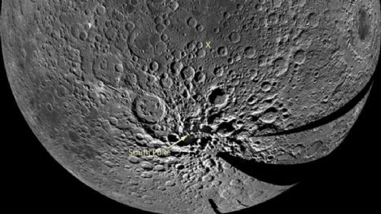 Ice deposits on Moon's South pole may be much more recent: Study