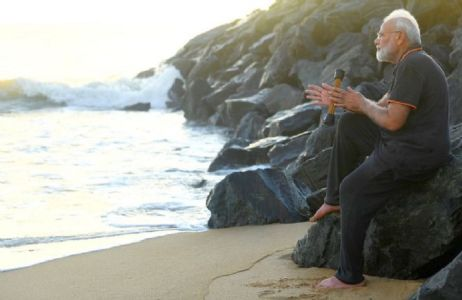 Was carrying acupressure roller while plogging at Mamallapuram beach: PM