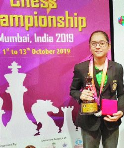 Divya happy with World Youth Championship Silver