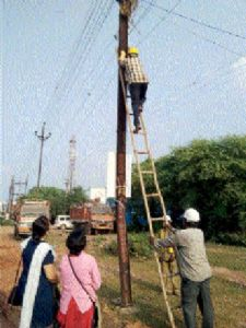 Bhilai division of CSPDCL collects 16 lakh against outstanding arrears
