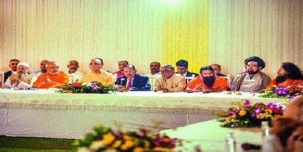 Doval holds interfaith meet to discuss peace