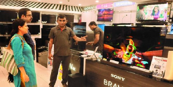 Electronic showrooms witness spike in demand this Diwali