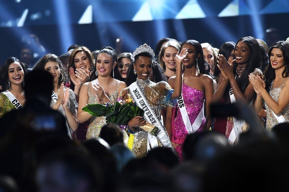 S Africas Tunzi wins Miss