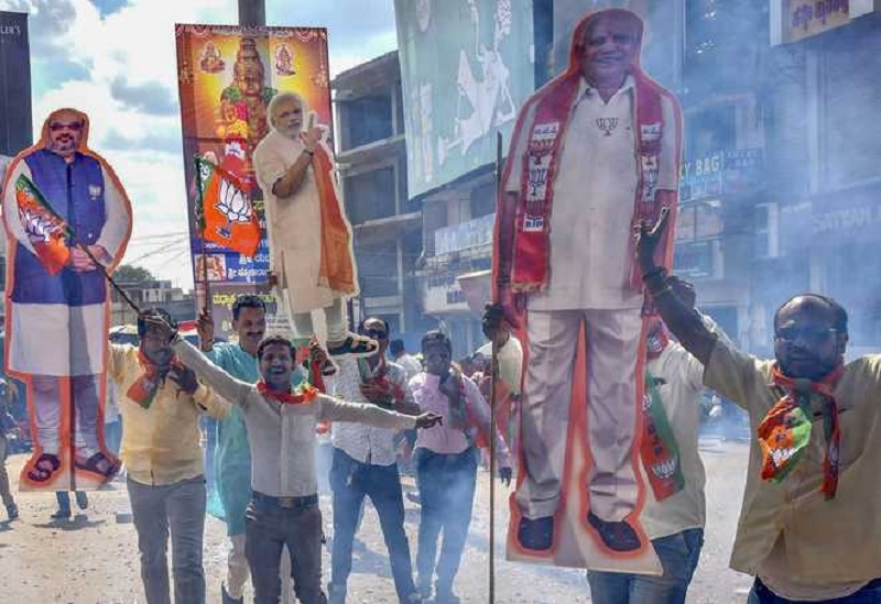 BJP wins 12 of 15 seats i