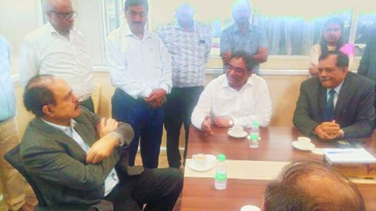 Ministry of MSME's Secy visits city for finalising land for Testing Centre