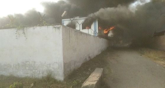 Massive fire breaks out at Raipur Polymers