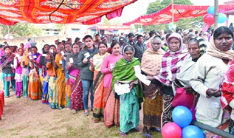 62 pc voting in third pha