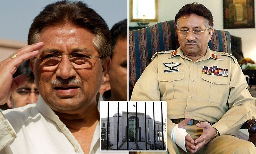 Musharraf sentenced to de