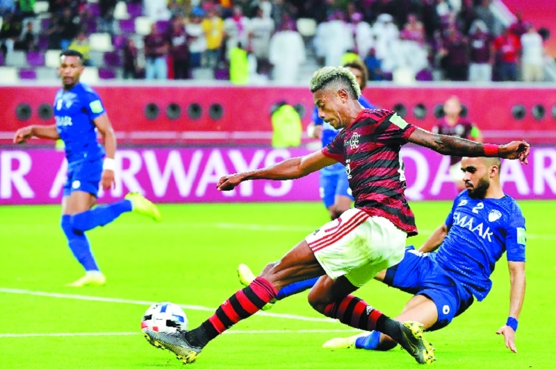 Flamengo come from behind