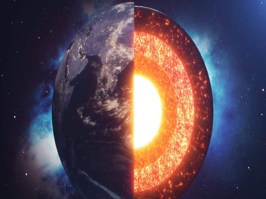 Earths innermost layer is