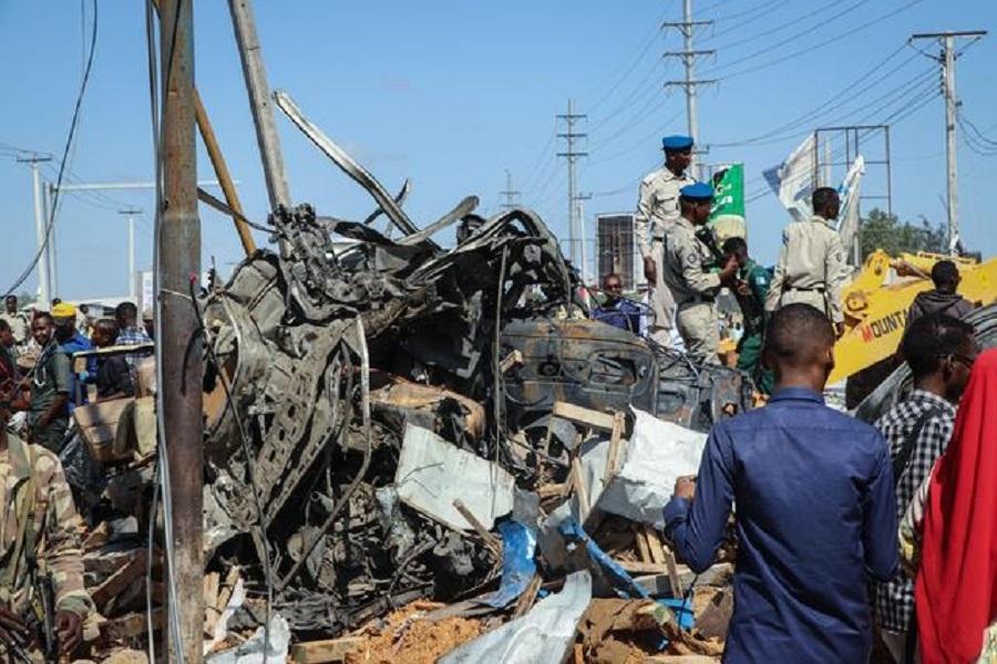 Massive truck bomb kills