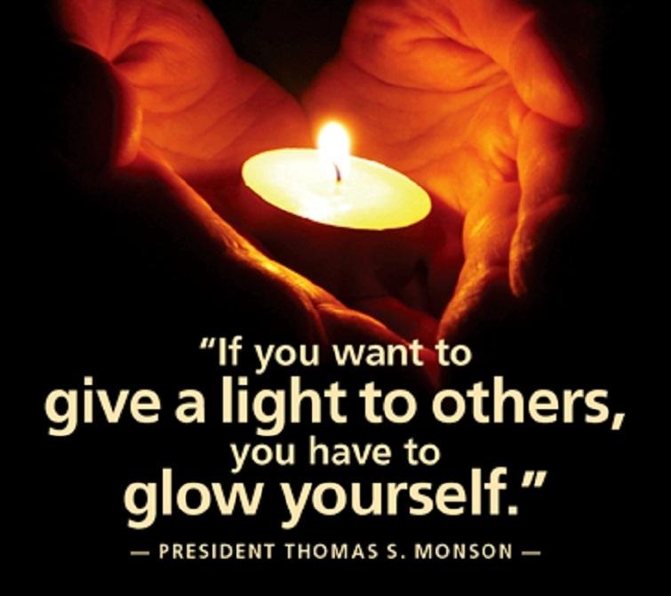 Be the light the world ne