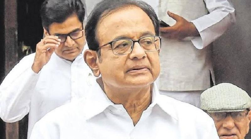 BJP accuses Chidambaram o