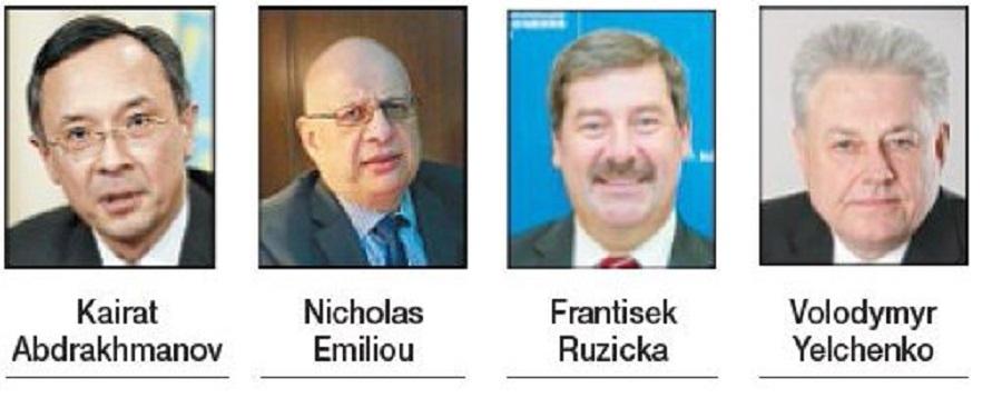 4 eminent diplomats honou