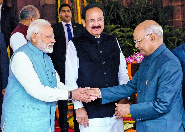 Modi Govt has worked to build 'New India': Kovind