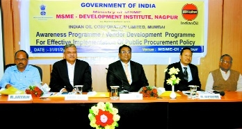 MSME-DI facilitating IOCL to source vendors from Vid