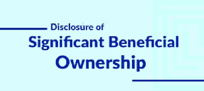 Govt amends significant beneficial owners rules