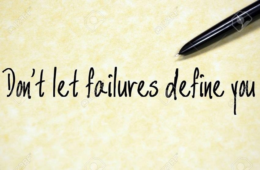 Failure does not define you